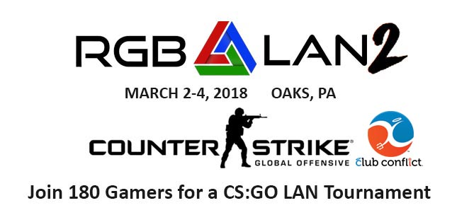RGB LAN2 CS:GO Tournament Hosted by Club Conflict