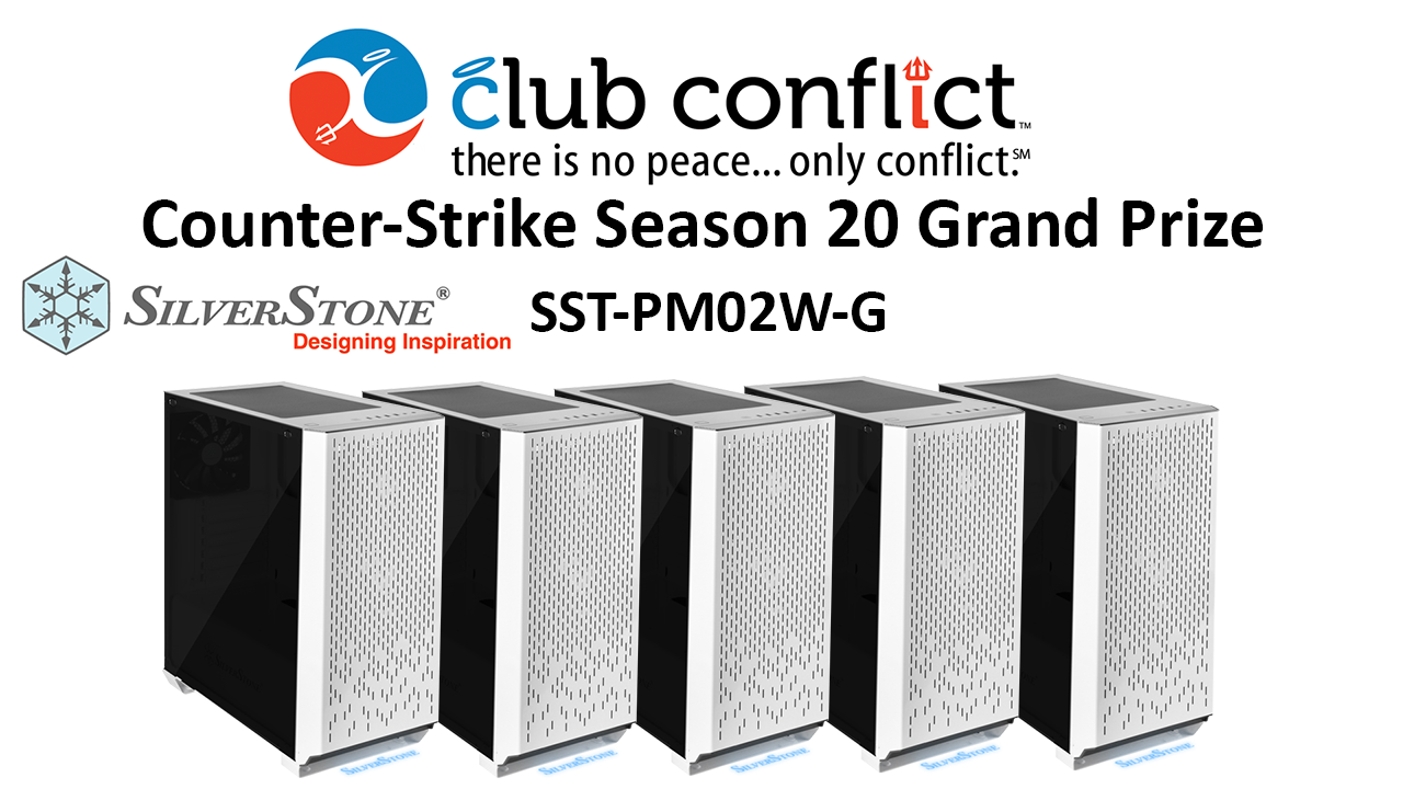 SilverStone Technology Sponsors Club Conflict Counter-Strike League for Season 20