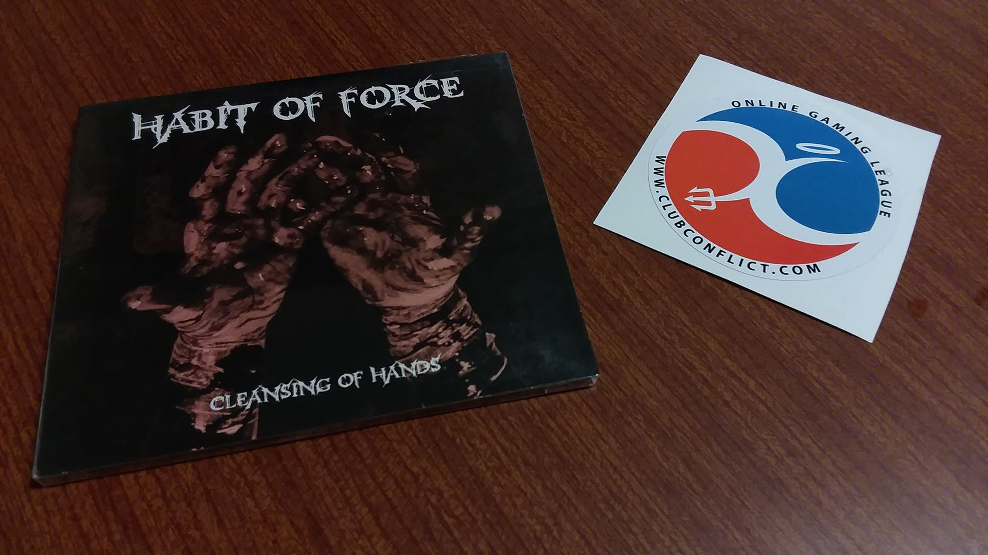The MVP Wins a Habit of Force CD and a Club Conflict Sticker