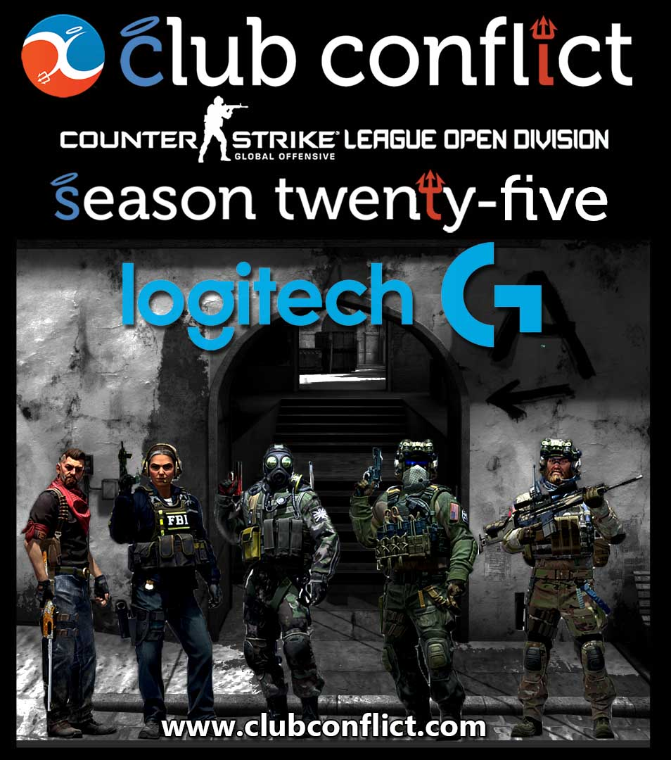 Club Conflict Counter-Strike League Open Division Sponsored by Logitech Gaming