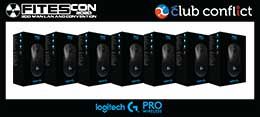 FITESCON 2020 LAN Tournament Prizes Sponsored by Logitech Gaming