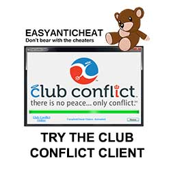 The Club Conflict Client Features Easy AntiCheat