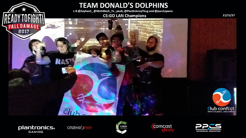 Team Donald's Dolphins 0 CS:GO LAN Champs 2017