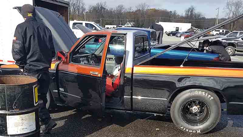 ZayhanS' Chevy S10 drag truck Which Does 10 seconds in the 1/4 mile