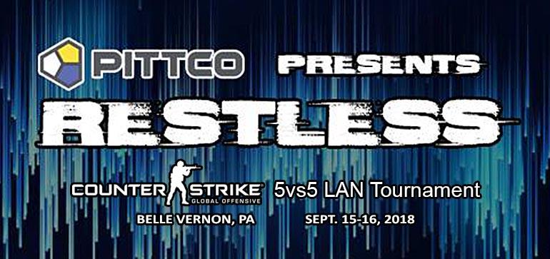 Club Conflict 5vs5 CS:GO LAN Tournament at PITTCO Restless