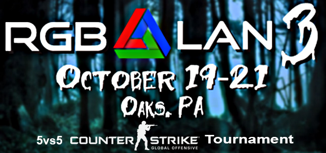RGB3 5vs5 CS:GO LAN Tournament hosted by Club Conflict