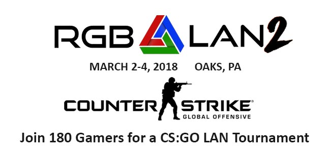 Club Conflict CS:GO LAN Tournament at RGB LAN 2018