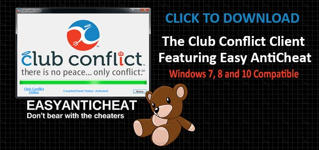 Download the Club Conflict Client Featuring Easy AntiCheat